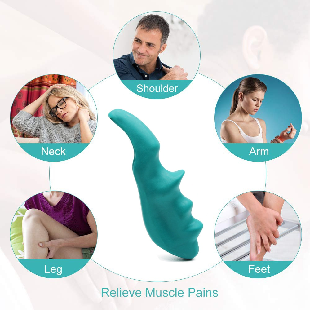 Massage Device Manual Thumb Massage Physiotherapy Small Tools Full Body  Deep Tissue Trigger Portable Multi Functional Massage – Moon Ray Shop