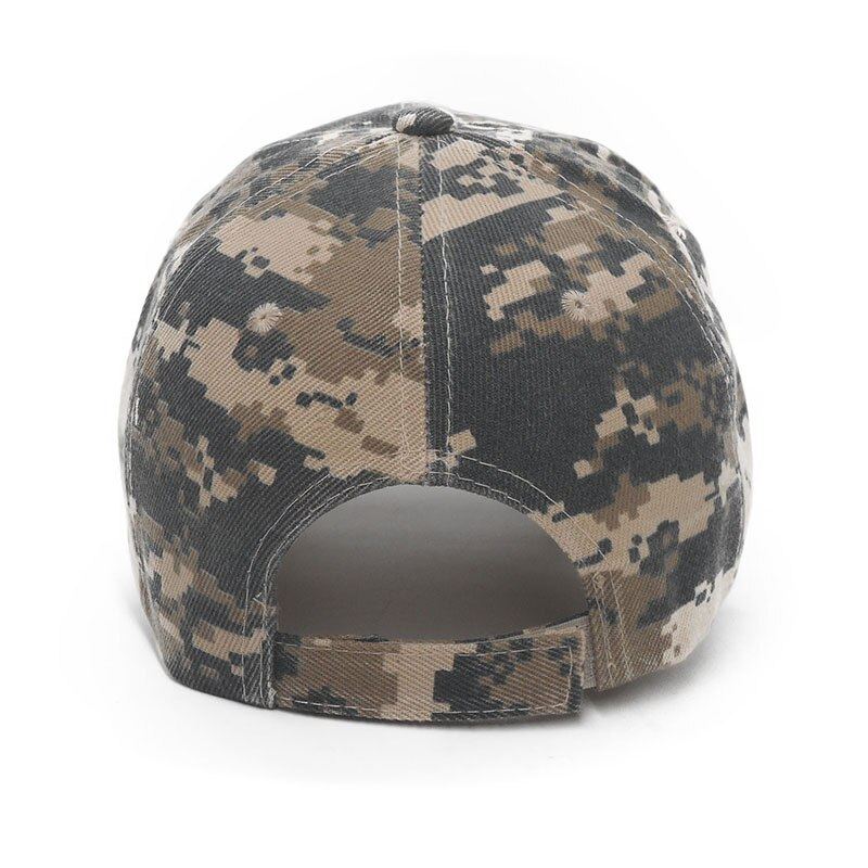Men Caps Women Tactical Army Baseball Camouflage Outdoor Hunting Snapback Hat