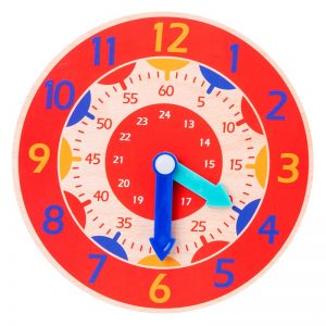 Wooden Children Toy Beading Game Woodenclock Beading Toy Educational Toy FI